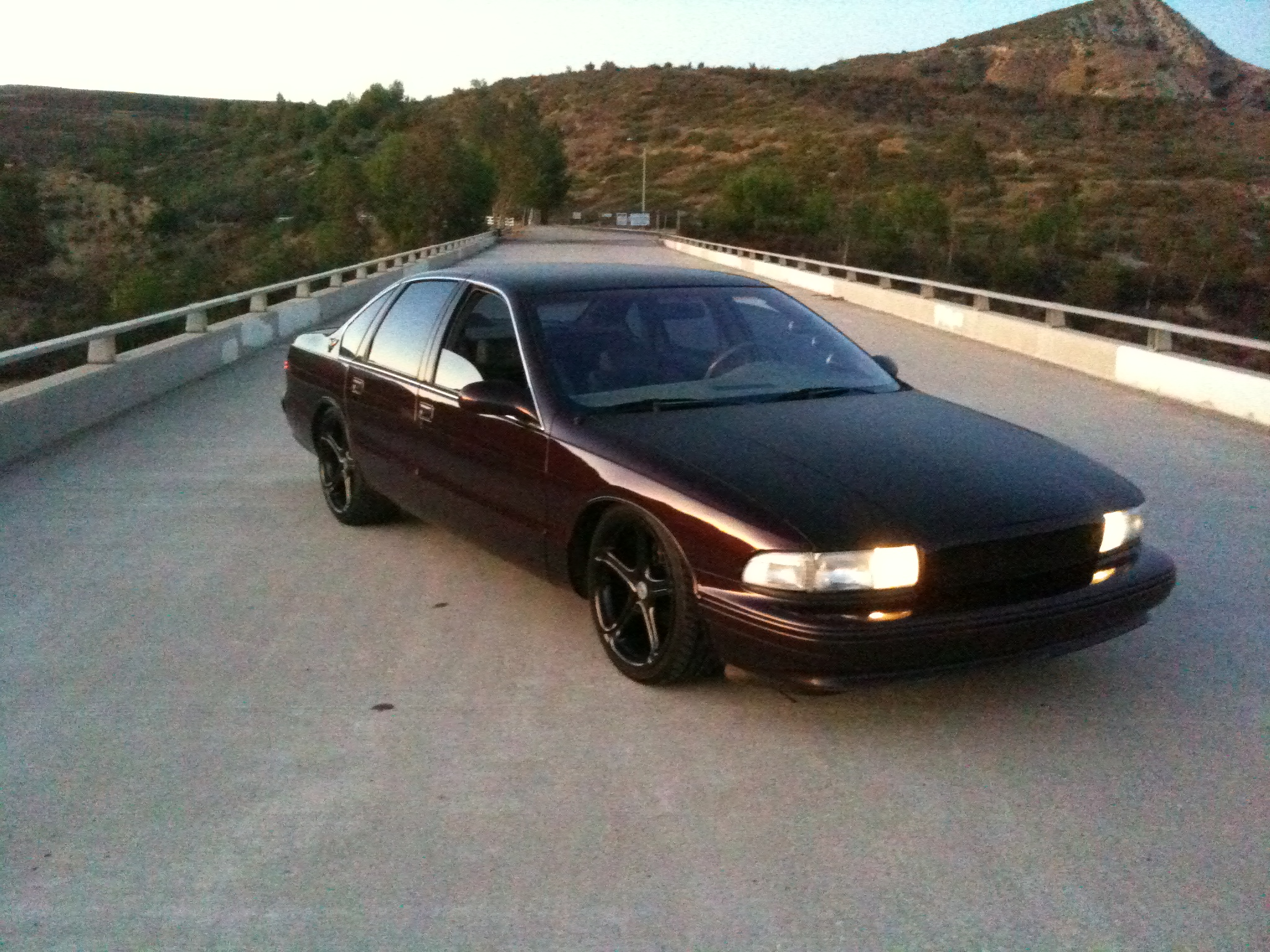 Had her since 96… it was time for a change… 96 Impala SS